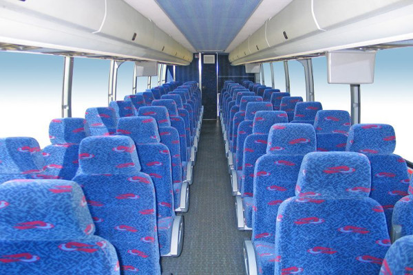 50 person charter bus rental Stockton