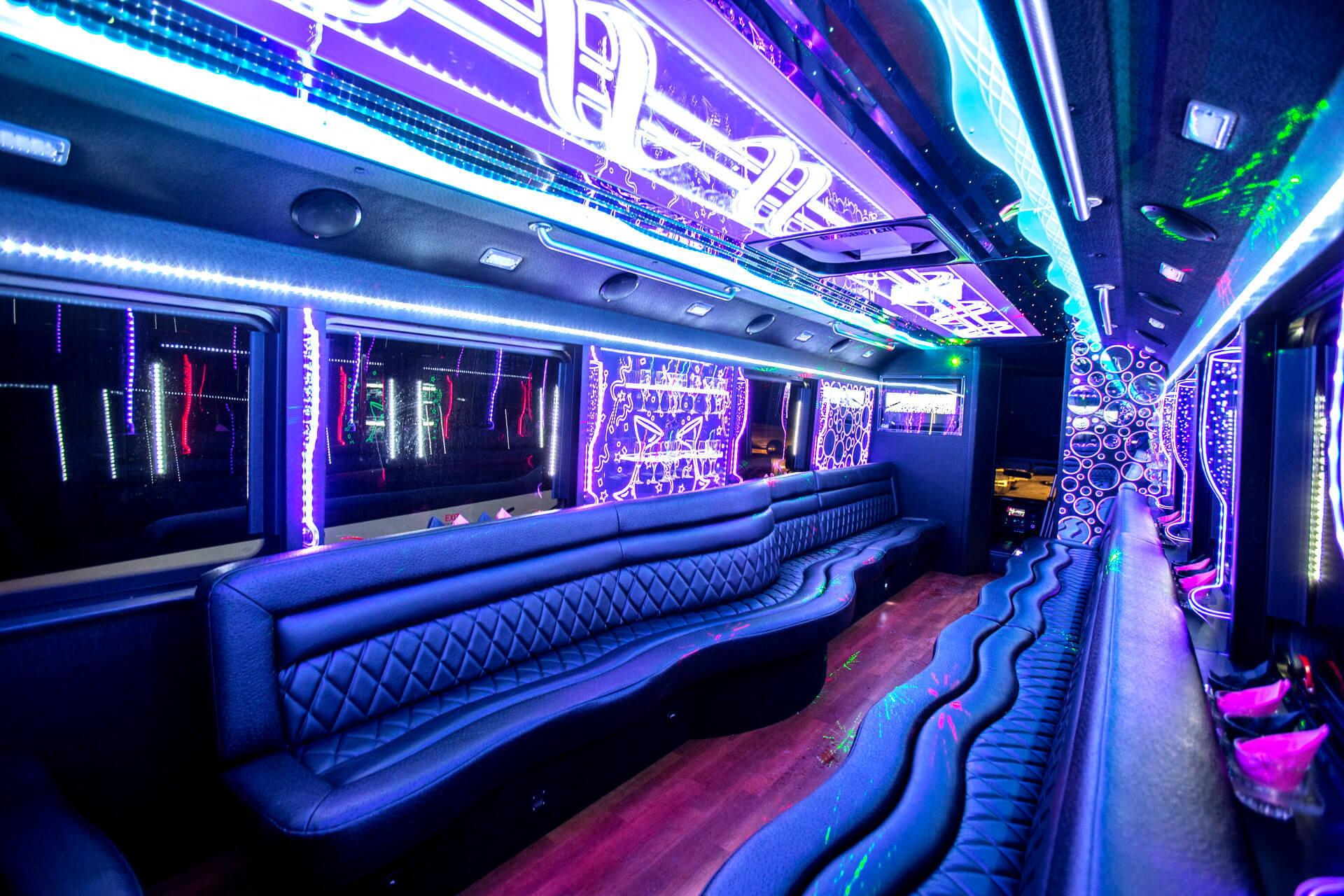 party bus Stockton rental
